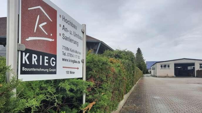 Per Bebauungsplanänderung bekommt ein Marlener Bauunternehmen Platz für eine Erweiterung.