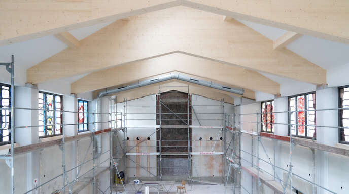 """Der Unverpackt-Laden """"LoLo - lose & lokal"""" wird in besonderem Ambiente den Betrieb aufnehmen - im alten Kirchenschiff der Martin-Luther-Kirche Kehl-Sundheim."""