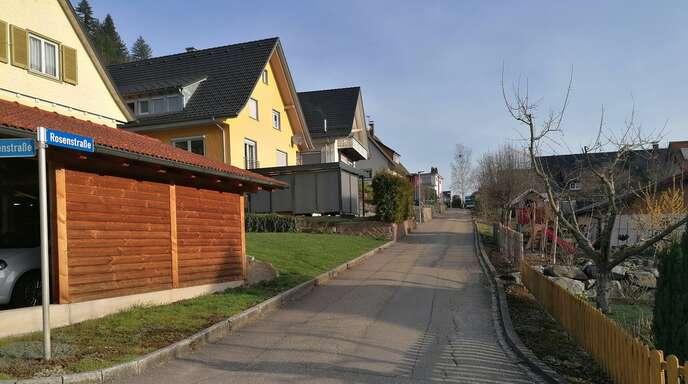 Die Straßenarbeiten beginnen kommenden Montag in der Rosenstraße.