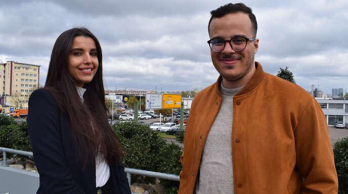 Mariem Guizani und Amine Ziania sind Doktoranden an der Hochschule Kehl.