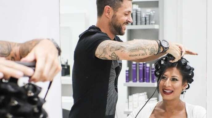 Das Brautstyling ist auch für den Friseur ganz besonders.