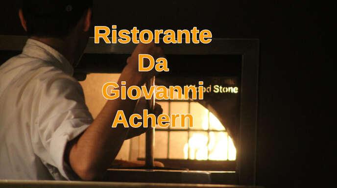 """Das Ristorante """"Da Giovanni"""" ist zentral in der Acherner Innenstadt gelegen."""