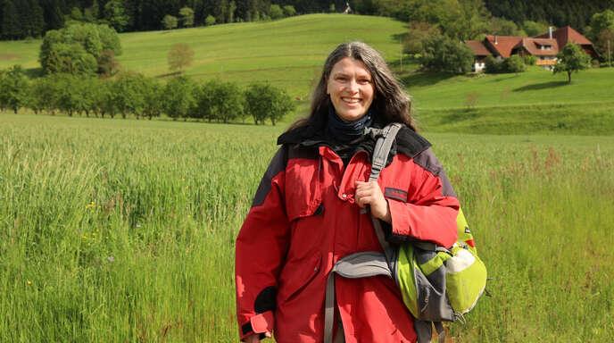 Manuela Schätzle wandert für ihr Leben gerne.