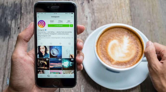 So vergrößern Sie das Profilbild auf Instagram.