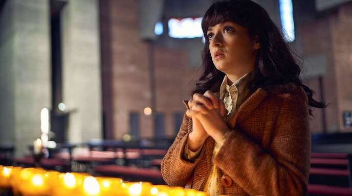 """Irgendwann hilft nur noch beten: Michelle Barthel in """"Goldjungs"""""""