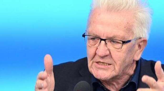 """Ministerpräsident Winfried Kretschmann (Grüne) will einen """"wirklichen Aufbruch"""""""