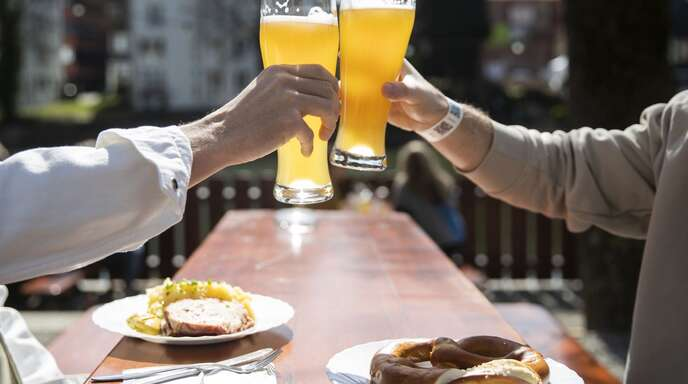 In Thüringen sollen die Biergärten bald wieder öffnen.