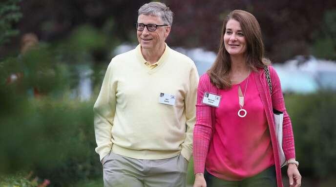 Bill und Melinda Gates gehen getrennte Wege.