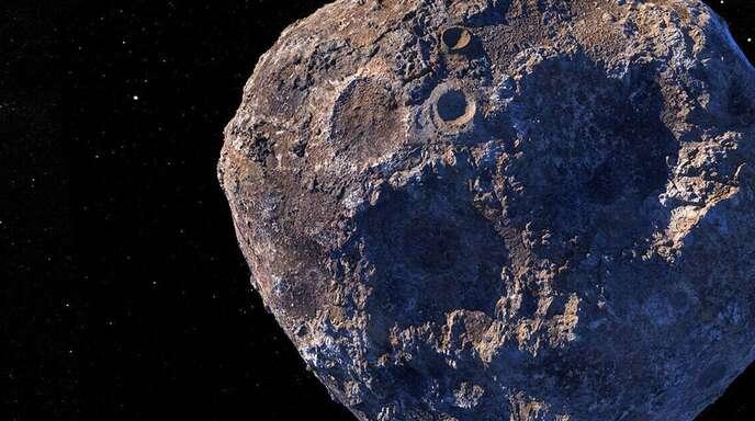 Illustration eines Asteroiden: Laut Nasa bleiben zig davon, die groß genug sind, um einen Schaden anzurichten, unentdeckt.