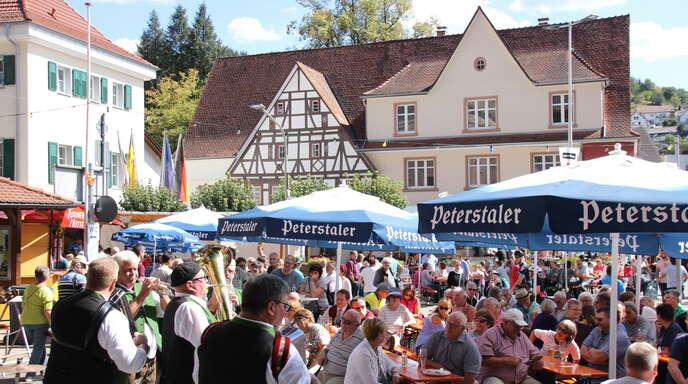 """Das Stadtfest Oppenau, das wegen des Stadtjubiläums """"950 Jahre"""" größer gefeiert werden soll, kann wie schon 2020 nicht stattfinden und wird ins kommende Jahr verlegt."""