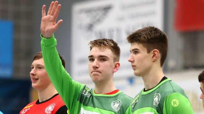 Lasse Ludwig (Mitte) könnte am Sonntag deutscher A-Jugendmeister werden.
