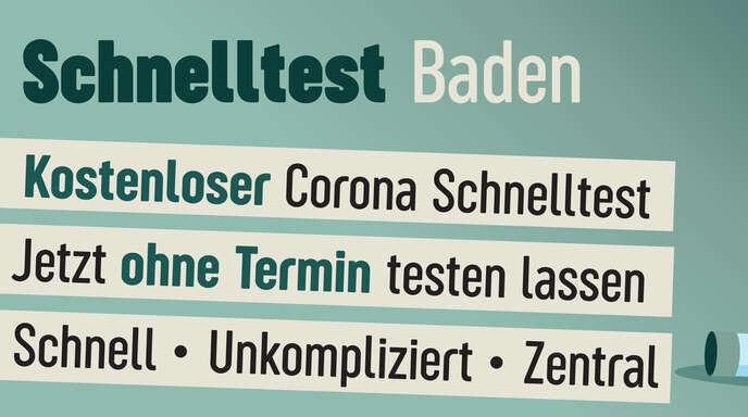 Das Schnelltestzentrum Baden ist ab sofort an fünf Standorten in der Region vertreten. Einfach vorbeikommen oder durch den Drive-in fahren und in 15 Minuten liegt das Testergebnis vor.