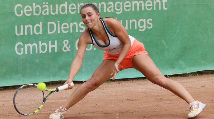 Mannschaftsführerin Julia Rauer startet mit dem TC BW Oberweier am 19. Juni in die Badenliga-Saison.