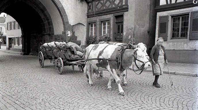 Das Rätsel ist schon gelöst: Maria Kimmig aus dem Gengenbacher Oberdorf ist auf dem Foto.