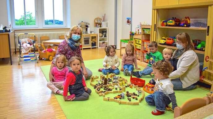 Im nächsten Kindergartenjahr werden die Krippenplätze im Sasbachwaldener Rathaus nicht ausreichen. Wann der geplante Kindergartenanbau in Betrieb gehen kann, ist noch offen.