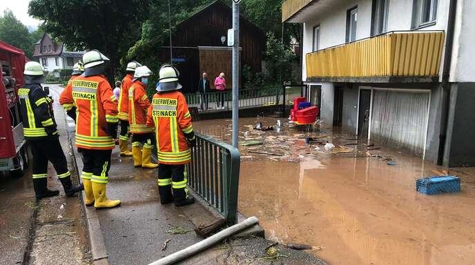 Einsatz der Feuerwehr Steinach in Schuttertal