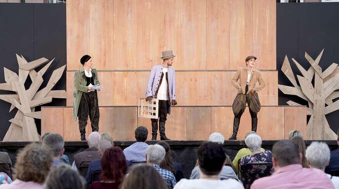 Lust auf Theater neu entfacht: Die Badische Landesbühne spielte in Gengenbach auf dem Stadthallen-Parkplatz.