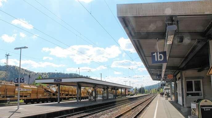 Der Hausacher Bahnhof soll barrierefrei werden.