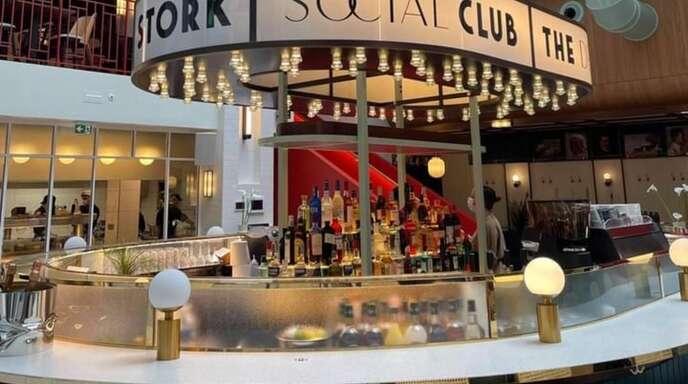 "Stilvoll: ""The Drunky Stork Social Club"" in Straßburg."