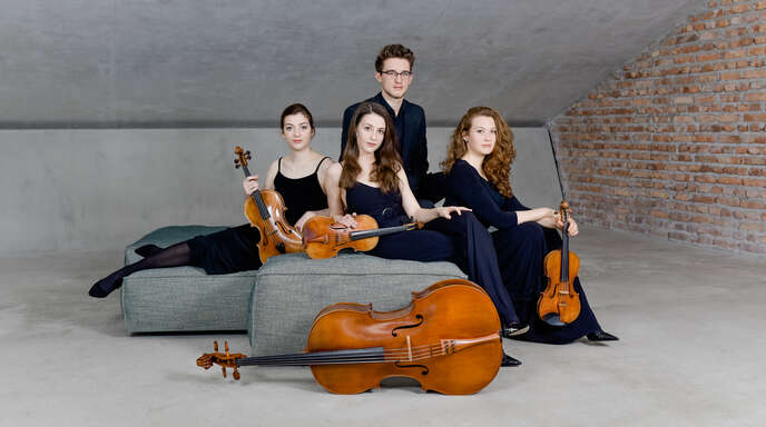 """Das Salzburger Javus-Quartett gastiert in Offenburg und eröffnet die Reihe """"Kammermusik an der Kinzig"""" nach langer Pause."""