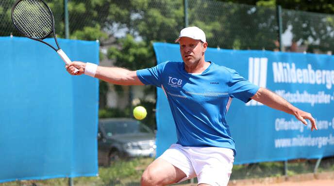 Der langjährige deutsche Daviscup-Spieler David Prinosil wird auch in dieser Saison für den TC BW Bohlsbach aufschlagen.