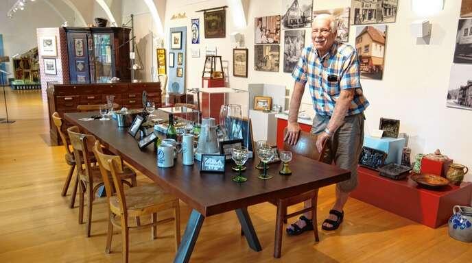 Der Saisonstart in Wolfachs Museum im Schloss fiel verhalten aus: Manfred Schafheutle wartete am Sonntag vergeblich auf Besucher.