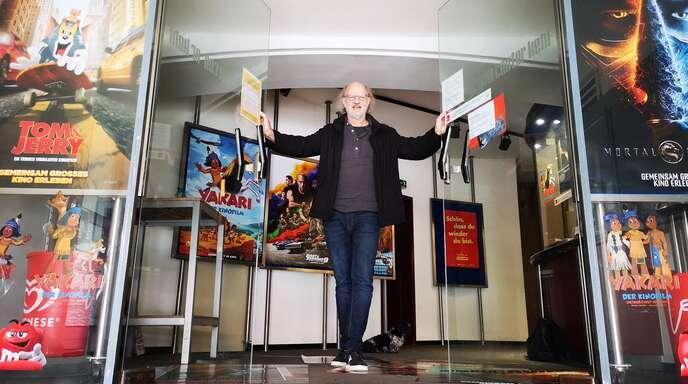 In ein paar Tagen darf Kehls Kinobetreiber Joachim Junghans endlich seine Türen wieder für Cineasten öffnen.
