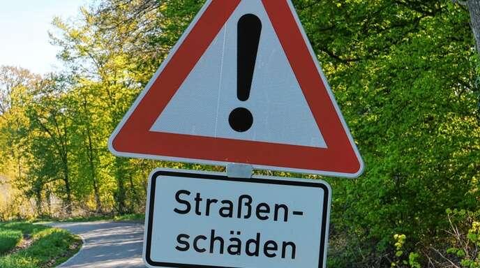 Straßenschäden bestimmen auch auf der Mooswaldstraße im Wolfacher Stadtteil Kirnbach das Bild - zumindest noch.