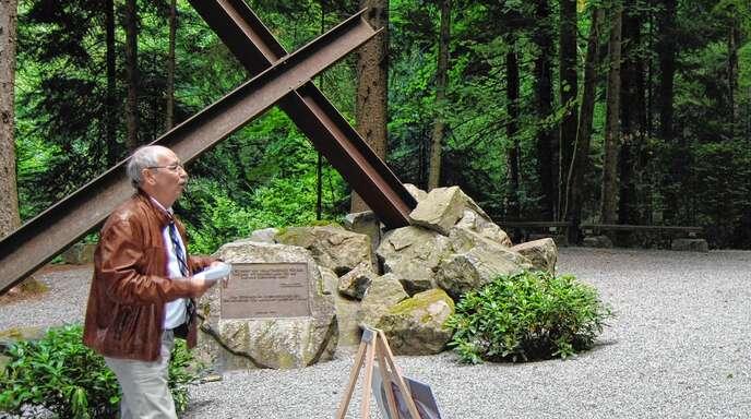Sören Fuß hatte schon unzählige Führungen an der Gedenkstätte Vulkan.
