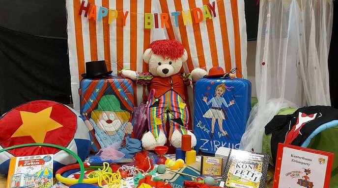 Die Lesewelt Ortenauverleiht ab sofort Geburtstags-Koffer für einen unvergesslichen Kindergeburtstag.