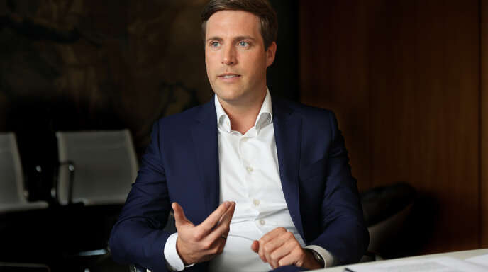 """Gibt sich überzeugt, dass """"Klimaschutz nicht mit Dirigismus und Verboten, sondern mit Hochtechnologie, Innovation, guter Mittelstandspolitik und ohne Wohlstandsverluste möglich ist"""": Manuel Hagel, der neue Vorsitzende der CDU-Landtagsfraktion."""