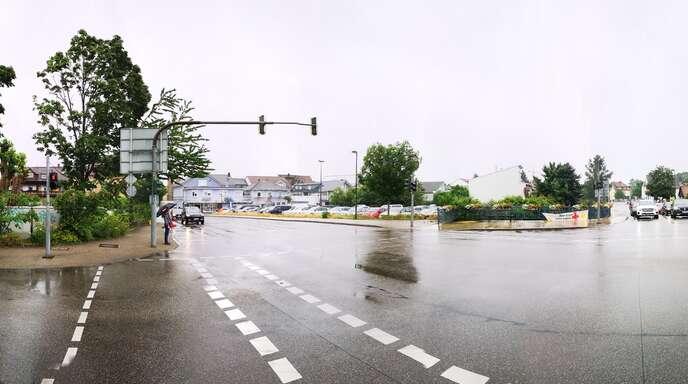 """""""Lammbrücken""""-Areal: Der Acherner Stadteingang (hier in einer Panoramaansicht) soll künftig wesentlich ansprechender gestaltet werden."""
