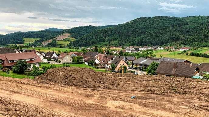 Von vielen Grundstücken im Baugebiet Oberer Wiesenrain in Fischerbach wird man einen sehr schönen Blick ins Tal haben.