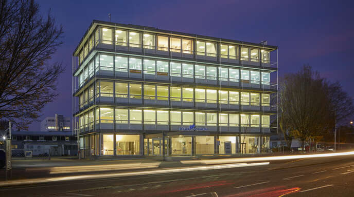 Der filigrane architektonische Charakter soll auch nach den Sanierungsmaßnahmen erhalten bleiben. Das Gebäude, von Egon Eiermann 1958 bis 1961 geplant und errichtet, wurde 1999 zum Kulturdenkmal erklärt.