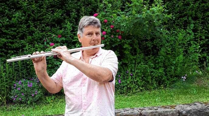 Franz Schindler aus Oberkirch-Haslach ist seit Sommer 2020 der neue Dirigent der Musik- und Trachtenkapelle Bad Griesbach.⇒Foto: Jutta Schmiederer