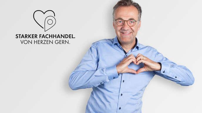 Kaufhaus Peters: Geschäftsführer Bernd Peters hat ein Herz für seine Kunden und für seine Mitarbeiter.