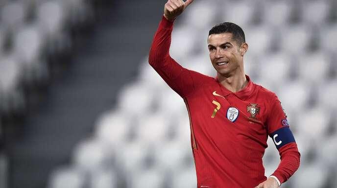 Die Zahl der Abonnenten von Cristiano Ronaldos Instagram-Kanal liegt längst im dreistelligen Millionenbereich.