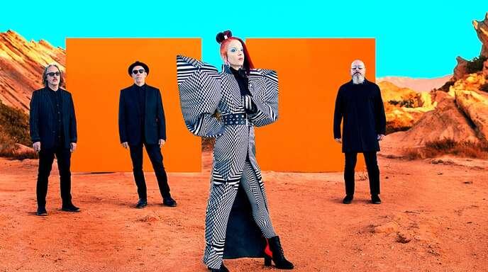 """""""Das Patriarchat erstickt den Fortschritt"""", sagt Shirley Manson. Auf dem neuen Garbage-Album packt sie mit ihrer Band aktuelle Themen in ein düsteres Gewand."""