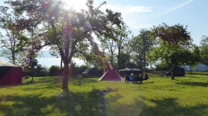 Zeltlager im Inland sollen diesen Sommer möglich sein.