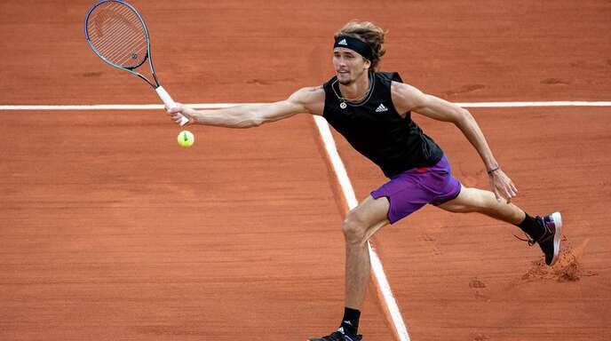 Spielt am Freitag um den Einzug ins Finale der French Open: Alexander Zverev.