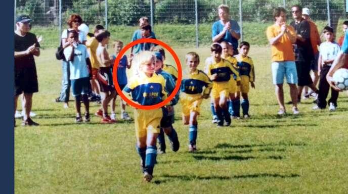 Timo Werner im Trikot des TSV Steinhaldenfeld