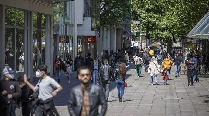 Auf der Stuttgarter Königstraße (Archivbild).