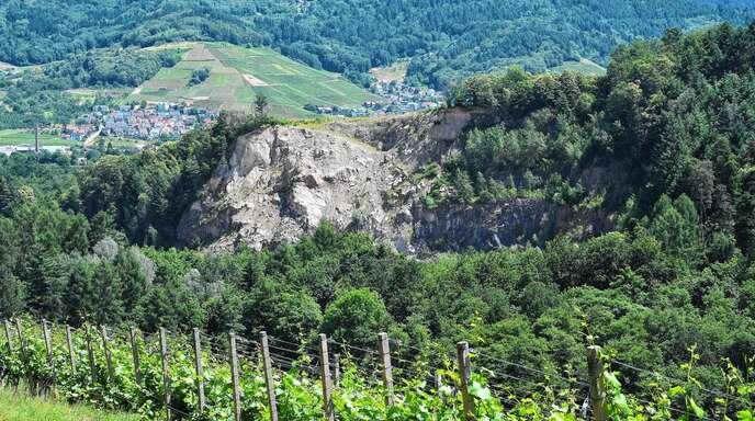 Umstrittenes Vorhaben: Der Ortschaftsrat empfahl dem Kappelrodecker Gemeinderat den Widerspruch gegen die Erweiterungsgenehmigung für den Waldulmer Steinbruch.