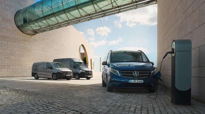 Die Zukunft gehört auch bei Mercedes den Elektrofahrzeugen. Bei S&G können sich Interessierte bei einer Probefahrt direkt überzeugen. Egal, ob Limousine, SUV, Van, Klein- oder Großtransporter.