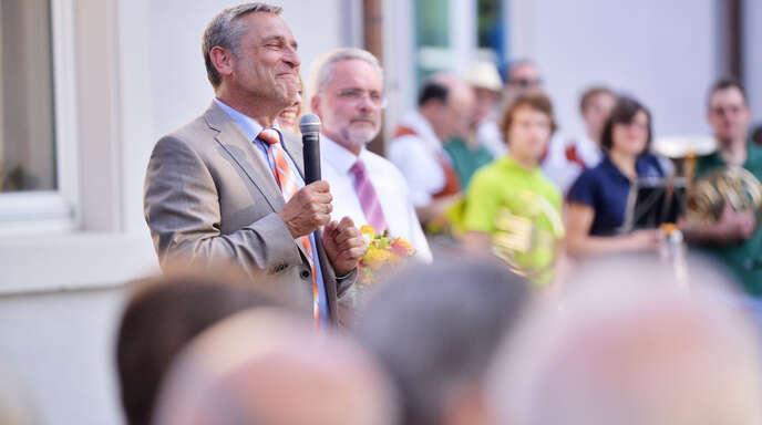Klaus Jehles letzter Wahlsieg – im Jahr 2013.