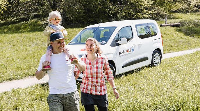 Ausflug mit der Familie? Stadtmobil Carsharing Südbaden und my-e-car machen es möglich!