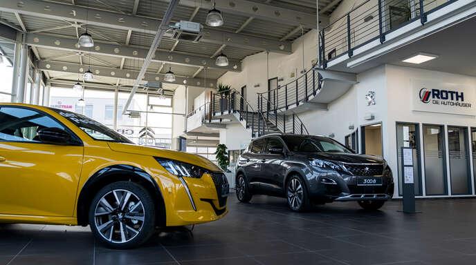 Der Name ROTH stehtfür persönliche Betreuung und die Marken PEUGEOT, Citroën und Subaru.