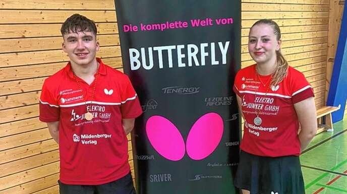 Samuel Schürlein und Jana Kirner überzeugten mit starken Leistungen in Offenburg.