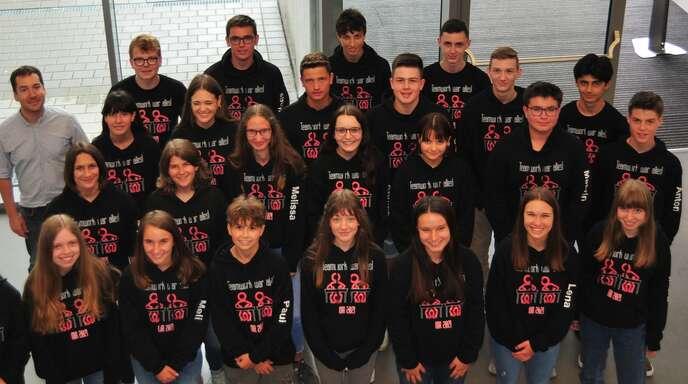 Abschlussklasse 10a der Realschule Oberkirch