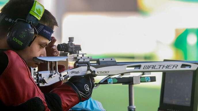 Der Zeller Sportschütze Moritz Möbius steht in Tokio vor seiner paralympischen Premiere.
